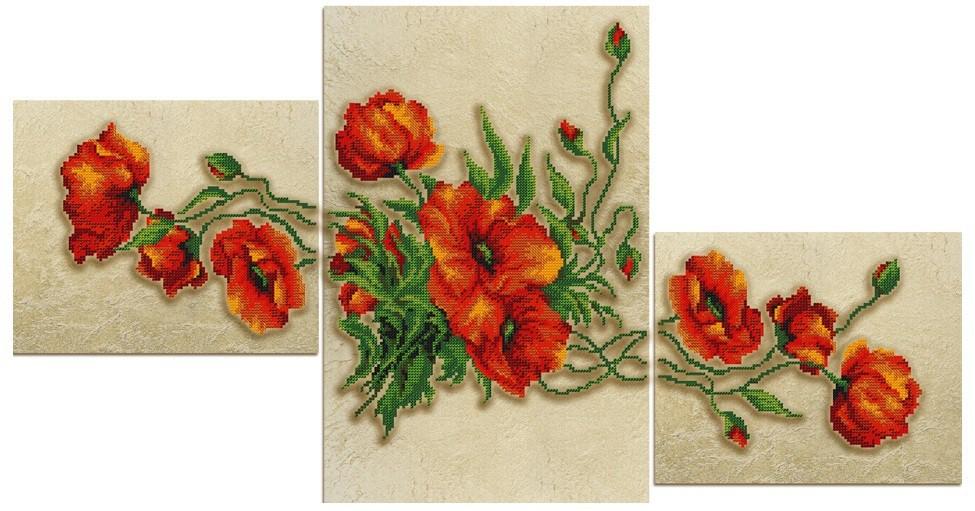 Набор для вышивания триптиха из бисера