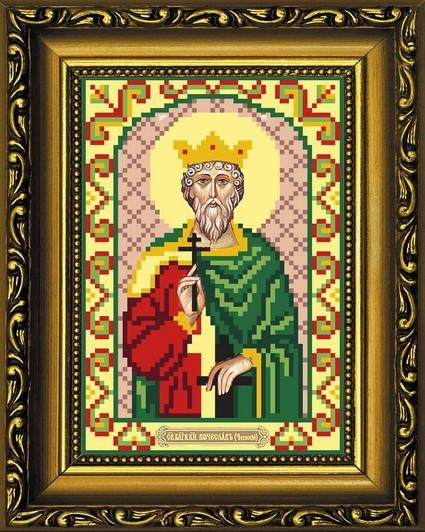 Вышивка бисером святой вячеслав 67
