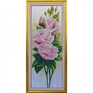 Тк 002 розы вышивка бисером